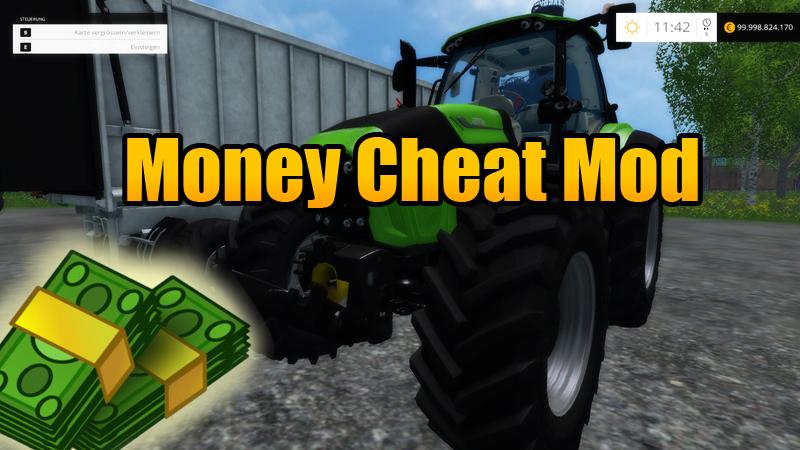скачать чит на деньги в игре farming simulator 2015