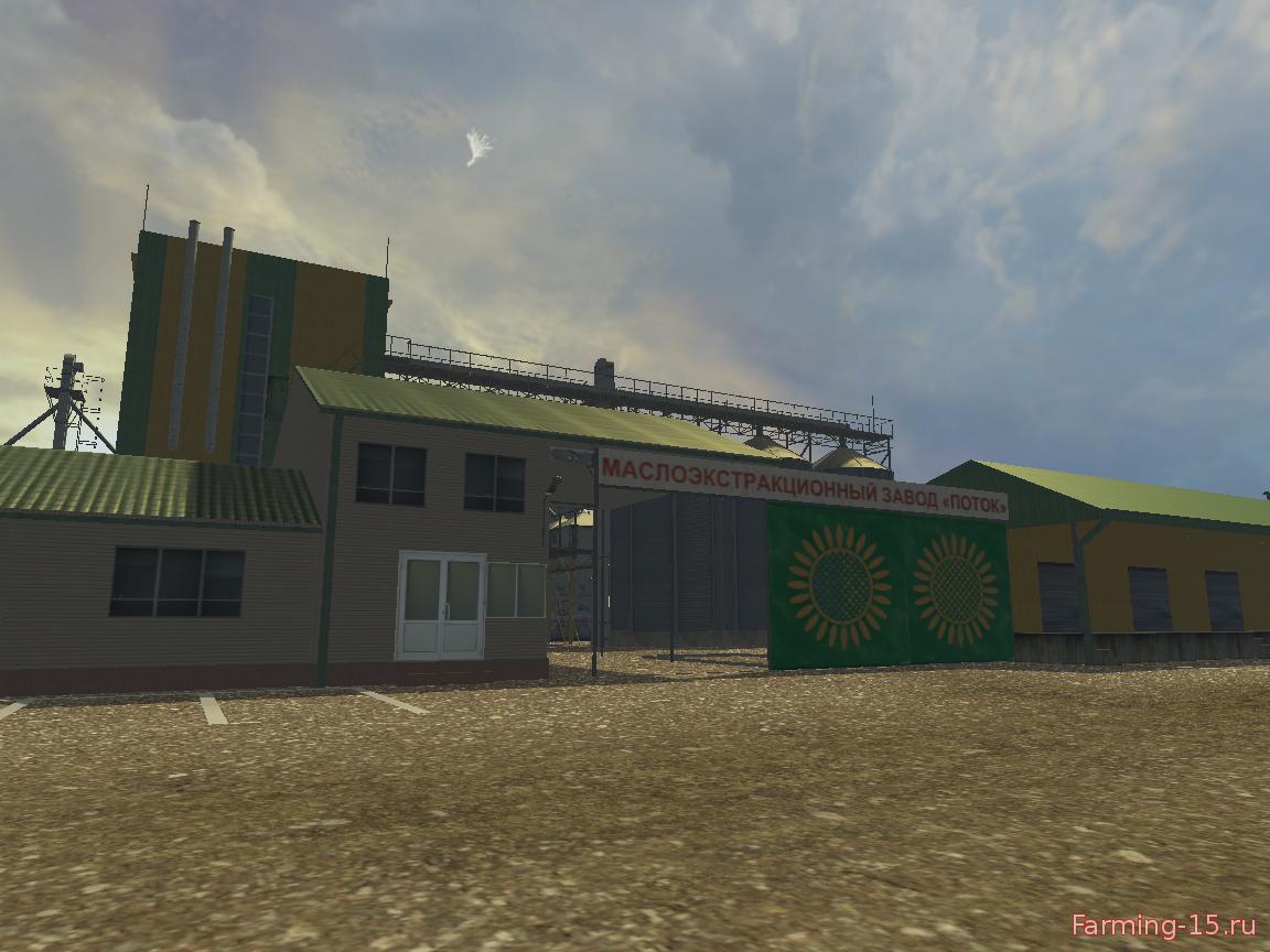 Russkaya Karta Markovo V 1 1 Dlya Farming Simulator 2015