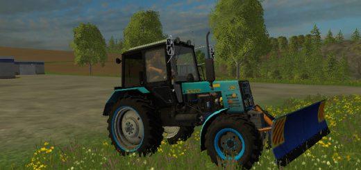 Русская техника для Мод трактор МТЗ-952 с отвалом  для Farming Simulator 2015