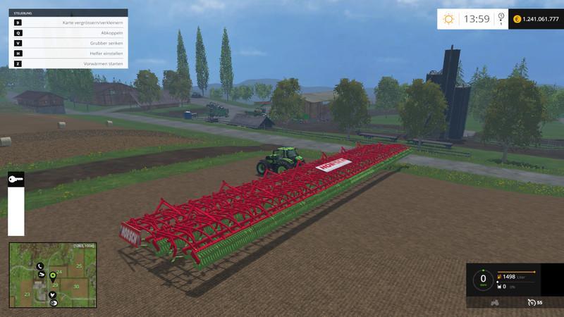 С/Х инвентарь для Большой культиватор для Farming Simulator 2015