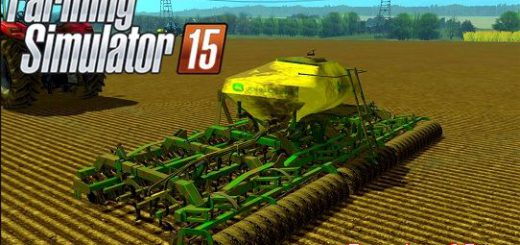 Культиваторы для Мод сеялка-культиватор JOHN DEERE PT SEED для Farming Simulator 2015