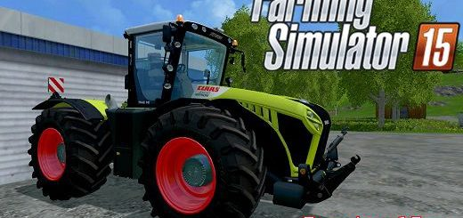 Тракторы для Мод трактор Claas Xerion 4500 v2.0 для Farming Simulator 2015