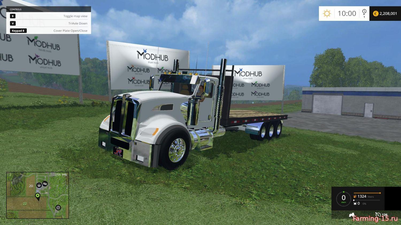 Тюкопрессы для Мод грузовик для перевозки тюков для Farming Simulator 2015