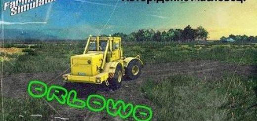 Русские карты для Мод карта Орлово v1.0 для Farming Simulator 2015