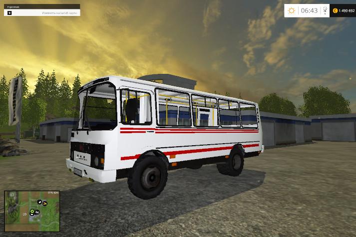 Другие моды для Мод ПАЗ-32053 для Farming Simulator 2015