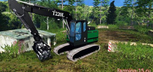 Погрузчики для Челюстной погрузчик для Farming Simulator 2015