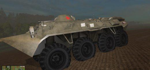 Русская техника для Мод БТР-80 для Farming Simulator 2015