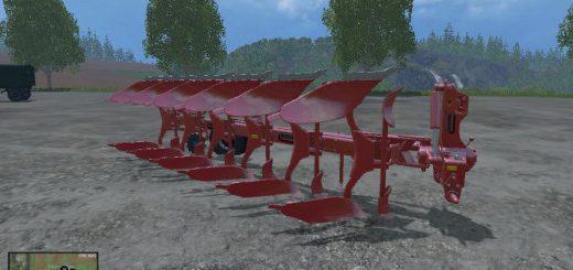 Плуги для Плуг «Maschio Lelio 6» для Farming Simulator 2015