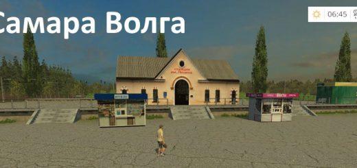 Русские карты для Мод карта Самара Волга для Farming Simulator 2015