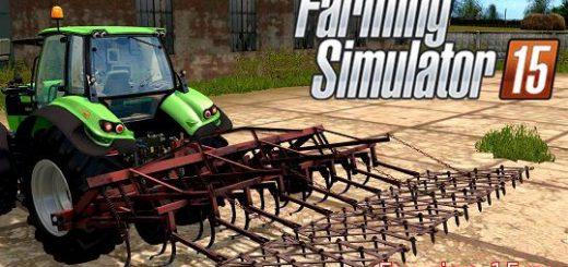 С/Х инвентарь для Мод навесной культиватор КПС-4Н для Farming Simulator 2015