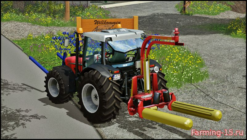 Тюкопрессы для Обмотчик тюков «Tanco Autowrap 1510EH» v1.0 для Фермер Симулятора 2015