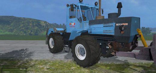 Русская техника для Мод трактор ХТЗ-152К-09 с отвалом для Farming Simulator 2015