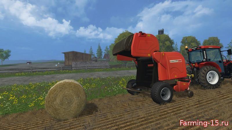 Тюкопрессы для Тюкопресс «Ursus Z 594» v1.0 для Фермер Симулятора 2015