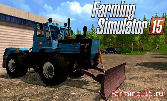 Русская техника для Мод трактор T-150K 09 для Farming Simulator 2015