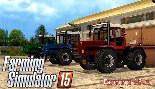 Русская техника для Мод-пак тракторов ХТЗ-17022 для Farming Simulator 2015