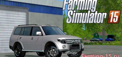 Машины для Мод машина Mitsubishi Pajero для Farming Simulator 2015
