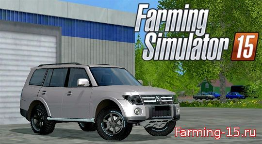 Машины для Мод машина Mitsubishi Pajero для Farming Simulator 2015