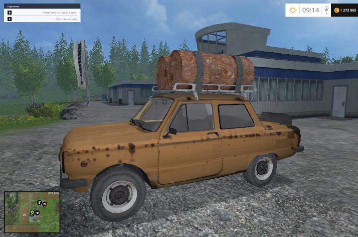 Русская техника для Мод «Запорожец» ЗАЗ-968А для Farming Simulator 2015