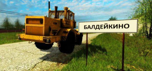 Русские карты для Мод карта Балдейкино v2.1 для Farming Simulator 2015