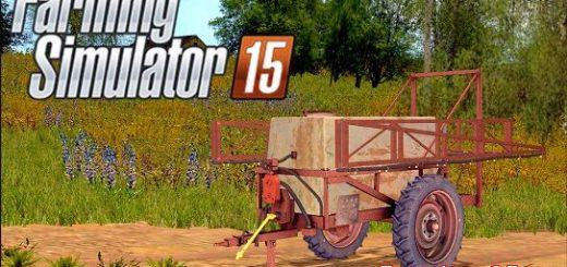 С/Х инвентарь для Мод опрыскиватель ОП-2000 для Farming Simulator 2015