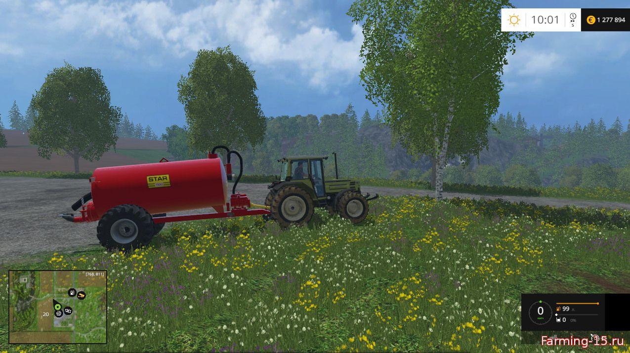 Цистерны для Цистерна для жидкого навоза для Farming Simulator 2015