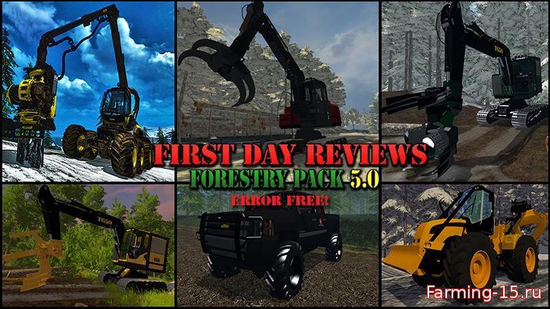 Лесозагатовка для Набор для лесозаготовки для Farming Simulator 2015