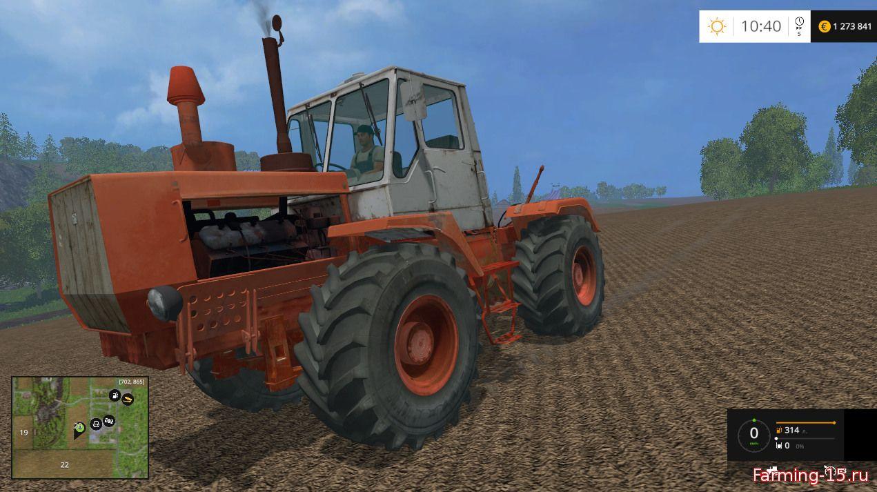 Русская техника для Мод трактор T-150 v3.0 для Farming Simulator 2015