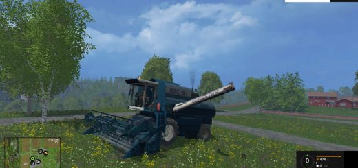 Русская техника для Мод комбайн КЗС-9.1 Славутич для Farming Simulator 2015
