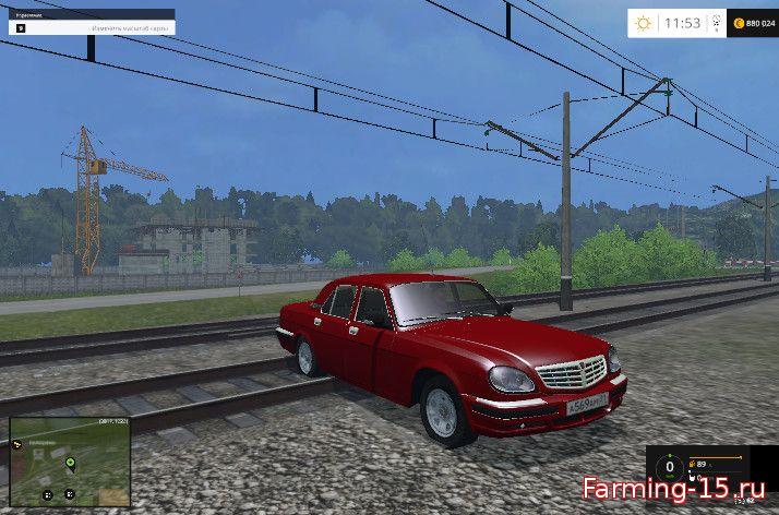 Русская техника для Мод ГАЗ-31105 «Волга» для Farming Simulator 2015