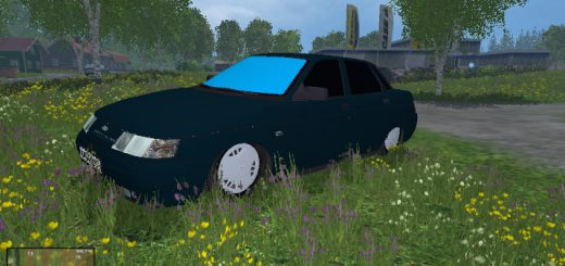 Русская техника для Мод ВАЗ-2110 бпан для Farming Simulator 2015
