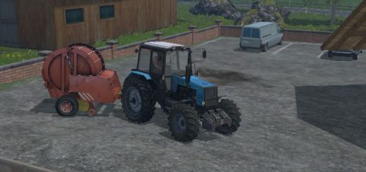 С/Х инвентарь для Мод пресс-подборщик ПРФ-180 для Farming Simulator 2015