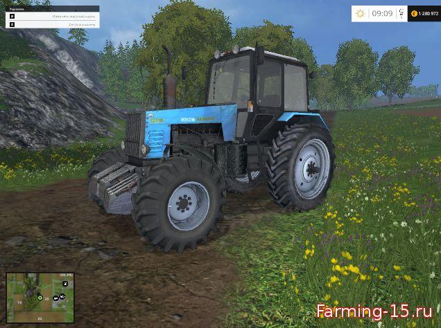 Русская техника для Мод трактор Беларус-1221 для Farming Simulator 2015
