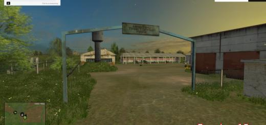 Русские карты для Карта СПК Борки — Агро для Farming Simulator 2015