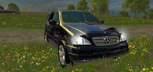 Машины для Мод Мерседес-Бенц ML 430 для Farming Simulator 2015