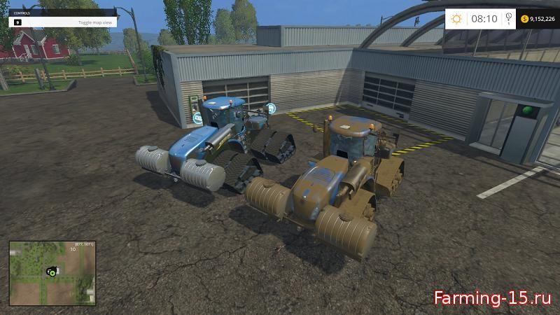 Тракторы для Мод гусеничный трактор New Holland T9565st для Farming Simulator 2015