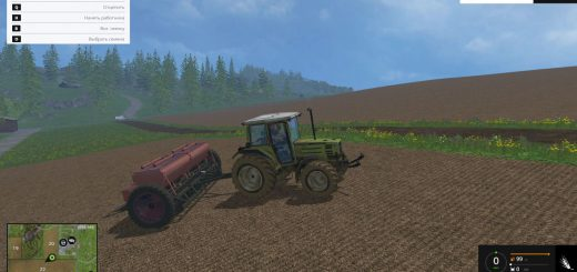 С/Х инвентарь для Мод сеялка СЗТ-3.6 для Farming Simulator 2015