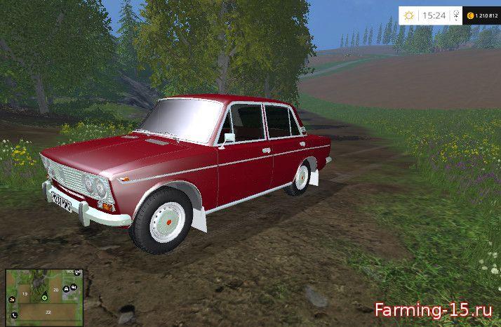 Русская техника для Мод ВАЗ-2103 «Жигули» для Farming Simulator 2015