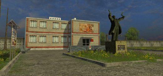 Русские карты для Мод карта Колхоз Рассвет 2 для Farming Simulator 2015
