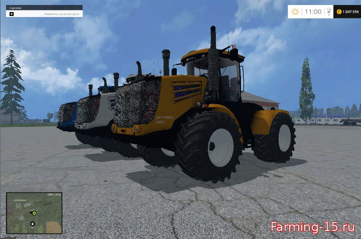 Русская техника для Мод трактор «Кировец» К 9450 для Farming Simulator 2015