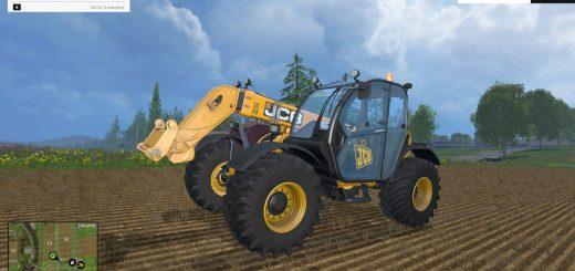 Погрузчики для Телескопические погрузчик «JCB 536.70 Agri» для Farming Simulator 2015