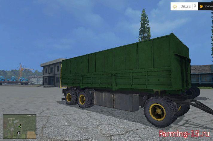 Русская техника для Мод прицеп для КамАЗ-8560 для Farming Simulator 2015