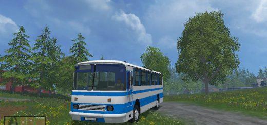 Русская техника для Мод автобус ЛАЗ-965 для Farming Simulator 2015