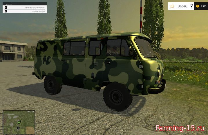 Русская техника для Мод УАЗ-3909 «Фермер» для Farming Simulator 2015