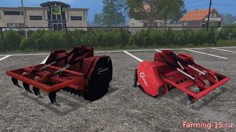 Лесозагатовка для Измельчитель пней «Ahwi FM700» v2.0 для Farming Simulator 2015