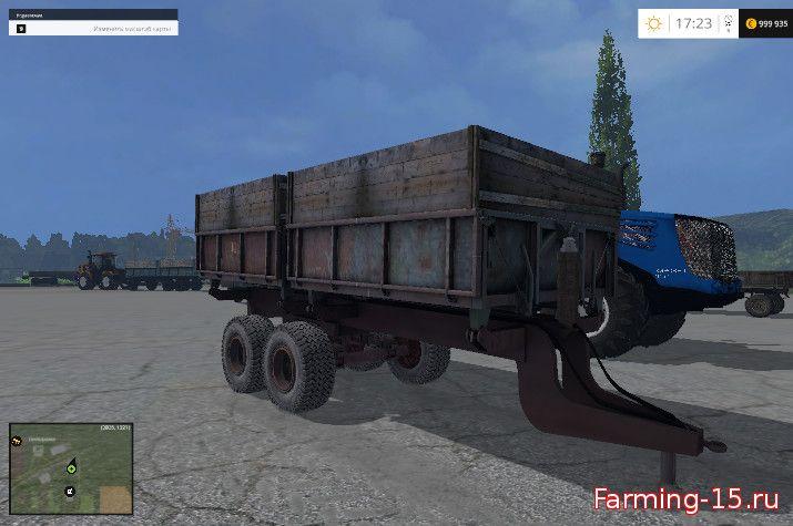 Прицепы для Мод прицеп 2ПТС-9 для Farming Simulator 2015