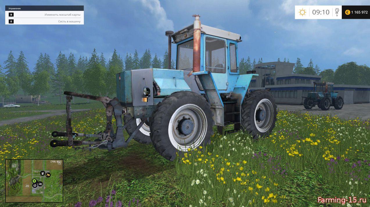Русская техника для Мод трактор ХТЗ-16131 для Farming Simulator 2015