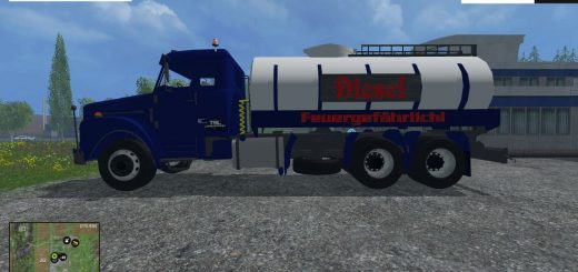 Грузовики для Мод грузовик-цистерна «Scania» для Farming Simulator 2015