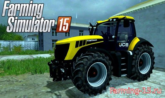 Тракторы для Мод трактор JCB Fastrac 8310 для Farming Simulator 2015