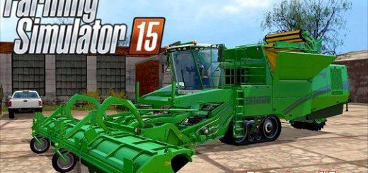 Комбайны для Мод картофелеуборочный комбайн Grimme Tectron 415 для Farming Simulator 2015