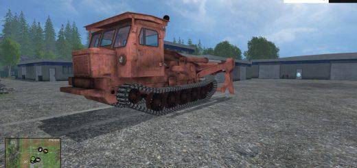 Русская техника для Мод трактор-лесопогрузчик ТТ-4 (на базе ЛТ-65) для Farming Simulator 2015